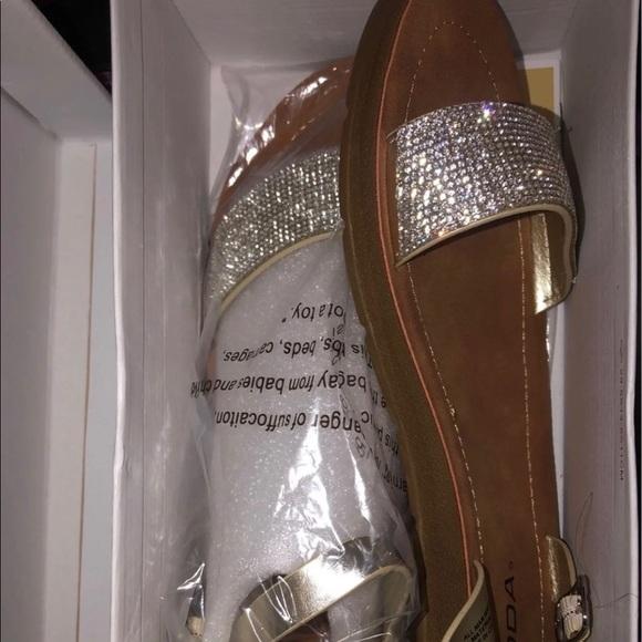 new rhinestone sandals